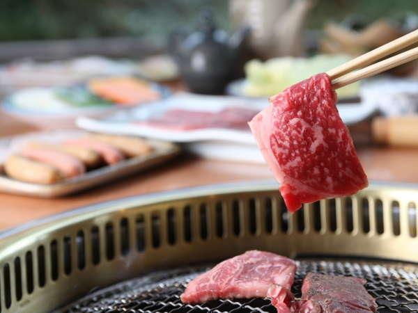 【直前予約】焼肉食べ放題プラン★しいばの湯併設セルフ式レストラン『山法師』にて