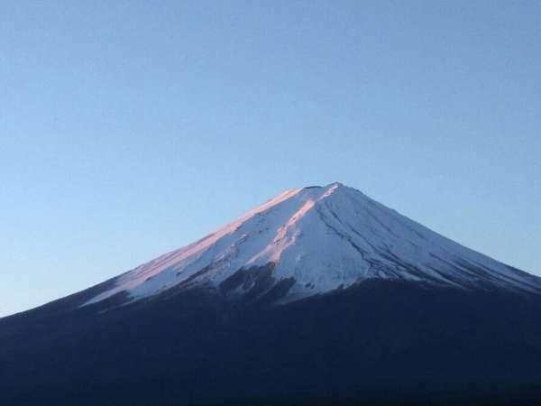 ホテル4Fからの富士山