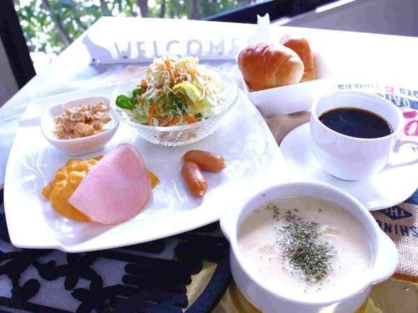 500円日替わり朝食