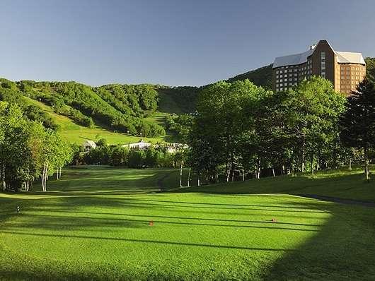 <ゴルフinルスツ>コースはフリーチョイス!1ラウンド付1泊2食付プラン