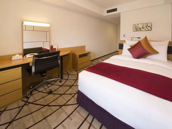 【えらべる朝食付】 くつろぎのレギュラーフロア(7-18階)ベーシックなお部屋でホテルステイを楽しむ