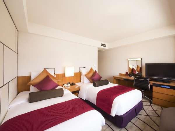 【室料のみ】 くつろぎのレギュラーフロア(7-18階)ベーシックなお部屋でホテルステイを楽しむ