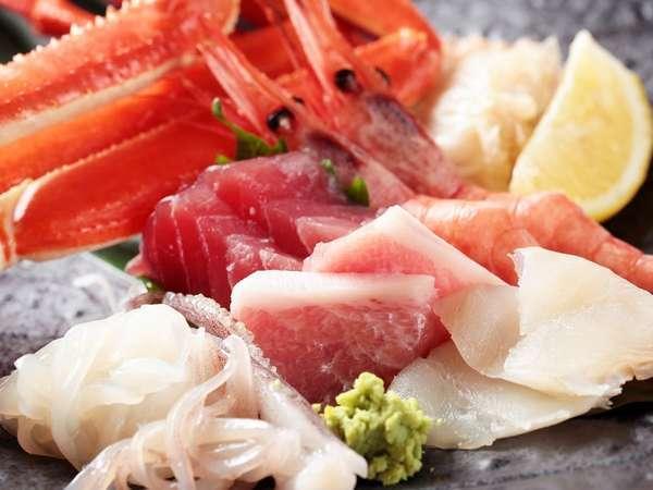【夕食ビュッフェ】新鮮な海の幸を是非ご堪能ください