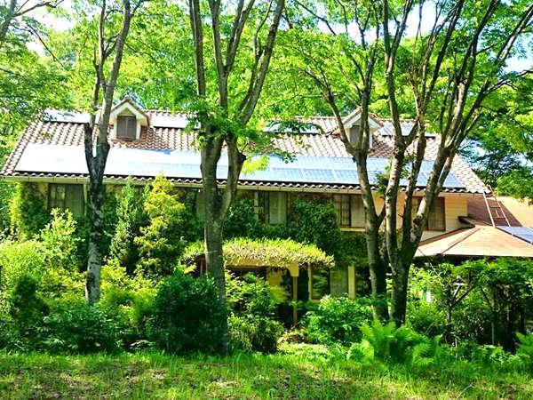 石窯ピッツァのおいしい宿 フラワーガーデンの外観