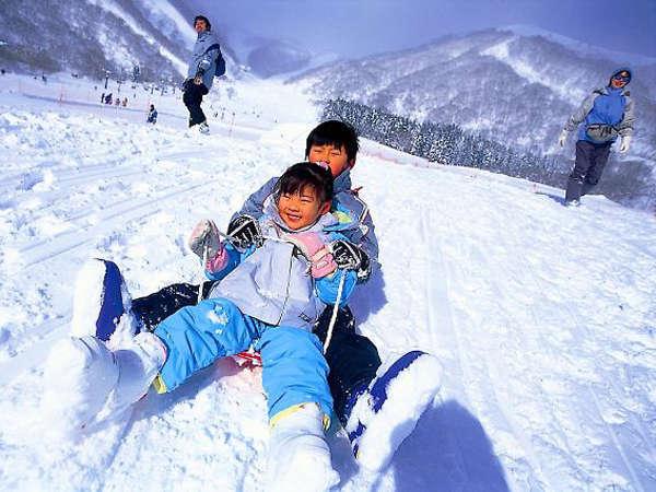 ★当館からスキー場まで車で約30分!★スキー・スノボを満喫!季節の味覚プラン