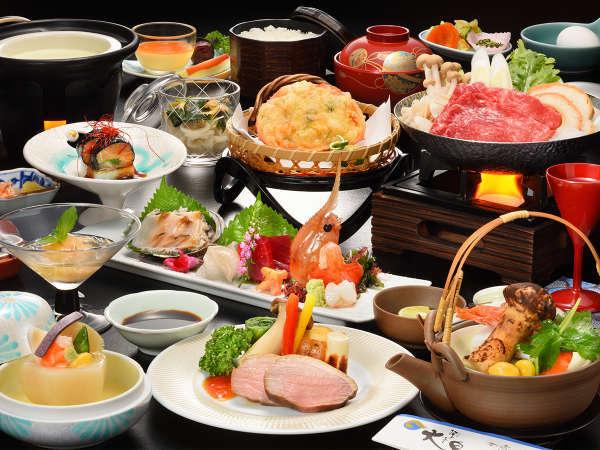 【雅の膳】ちょっと贅沢♪福島牛&鮮魚の和会席