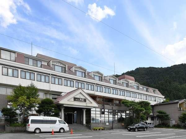 【外観】ホテル湖龍へようこそ(^^♪