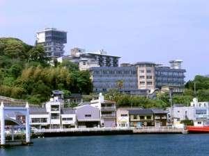 国際観光ホテル旗松亭の外観
