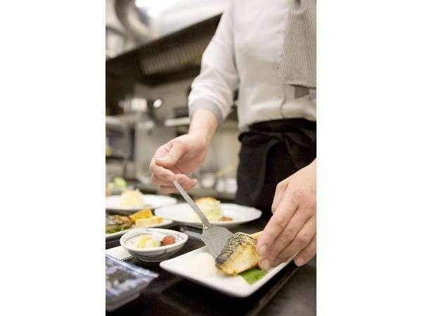 朝食はレストランシェフが毎朝手作りしてお出ししています★
