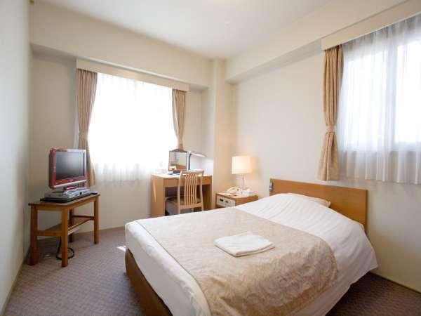 ・エコノミーシングルルーム(18平米・ベッド幅120cm)全室有線LAN対応