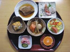 北海道の海の幸、山の幸を、心をこめて料理しました。夕食