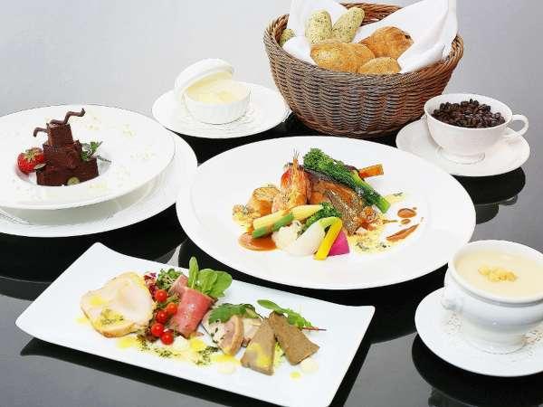 【リーズナブル・フレンチ】素材の味を活かしたお手軽フレンチ 本館レストラン