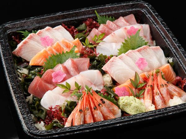 【お部屋食・選べる鍋】 新鮮な伊豆季節のお造りと6種類のお鍋からhappyセット