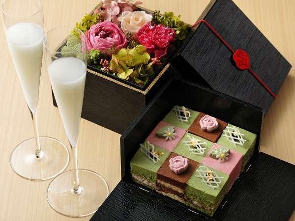 【記念日プラン】和心地な温泉旅館で大切な人と過ごすお祝いの日◆界のお祝い箱付 1泊2食付き