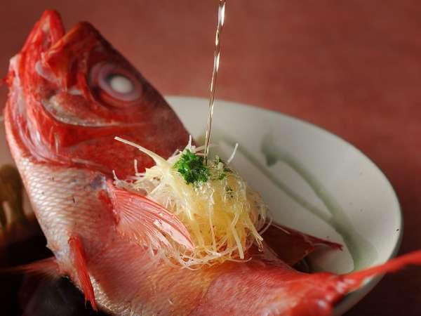 【春の特別会席】伊勢海老・鮑・金目鯛の三大美味を味わい尽くす♪メインは金目鯛の椿蒸し 1泊2食付