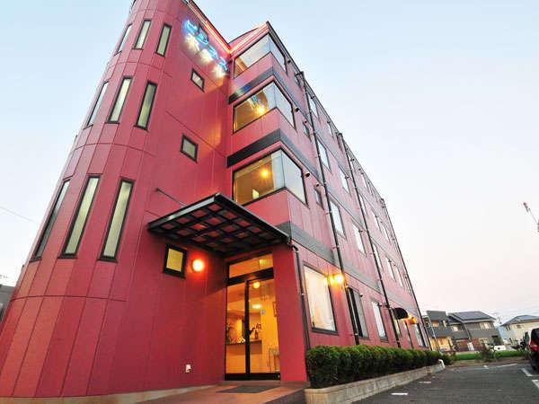 ビジネスホテル古賀島の外観