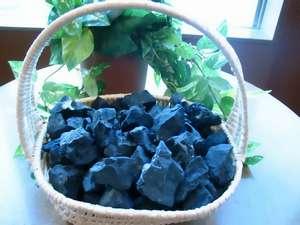 『神天石の湯』に使用されているブラックシリカ。