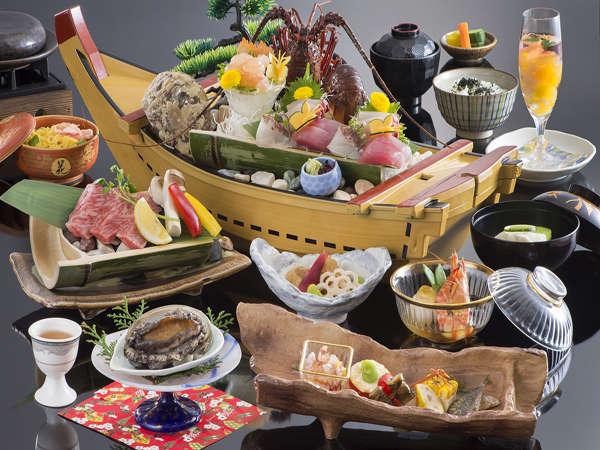 3月末まで/朝は自由にお出かけ彡観光に最適な1泊夕食付プラン【伊勢志摩の恵み会席プラン】