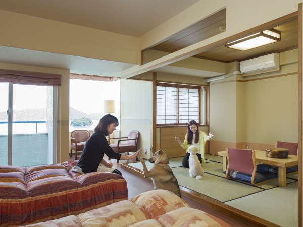 3月末まで/気軽にわんちゃんとの旅行を楽しむ素泊まりプラン