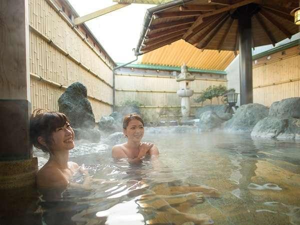 (AM9:00~AM10:30は清掃時間)温泉はグループ旅館のホテル鐘山苑から輸送