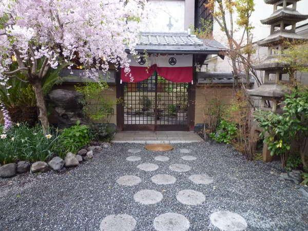 京の宿祇園佐のの外観
