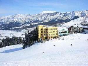 石打スキーセンターの外観