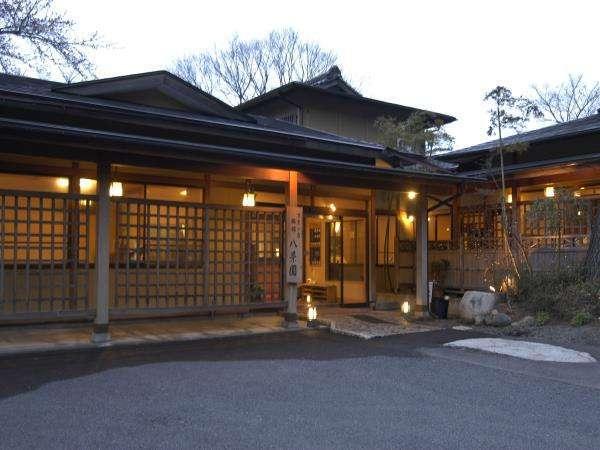 福島県 磐梯熱海温泉 八景園の外観