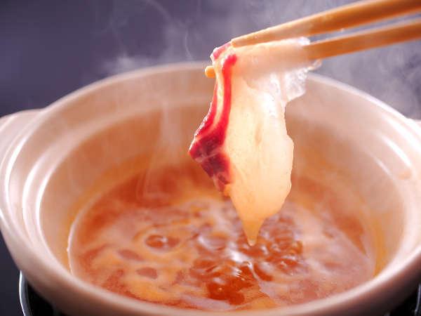 【黄金スープ】とろとろうにを楽しむ♪うにしゃぶ会席 鰈・サザエ・とろろ昆布