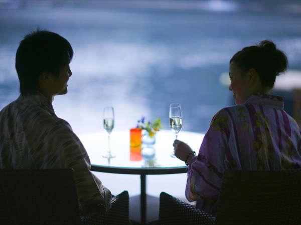 """■カップルプラン■ 貸切露天♪&個室食事♪&色浴衣♪〜彼と私の""""ふたりだけ♪""""の特別なひとときを〜"""