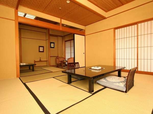 【次の間付客室】トイレは、和室と洋室各1つずつございます。