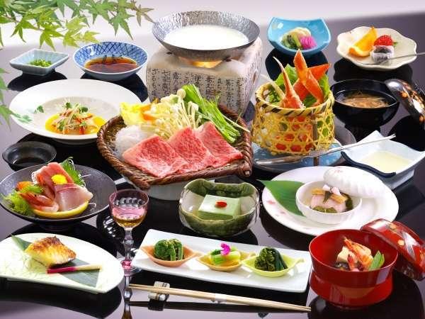 柔らか霜降り和牛のヘルシー豆乳鍋、鰆の西京焼き、ズワイ蟹など2013年春夏3大グルメ会席