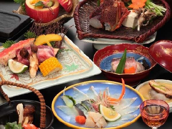 今だけの【松茸特別会席】☆さらにタラバ蟹や特撰和牛ロースなど贅沢素材をベストな調理法でご提供!