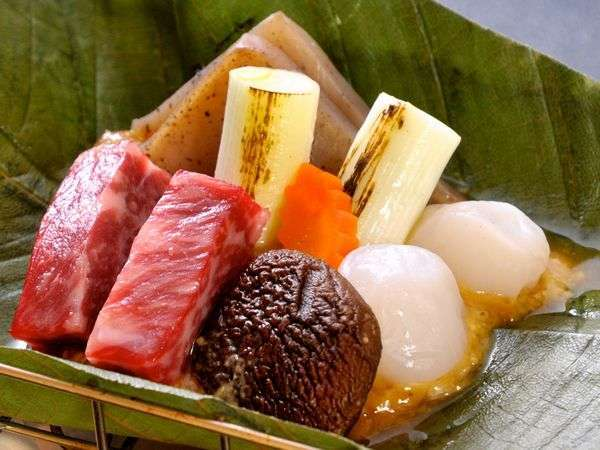 上州牛朴葉焼きイメージ