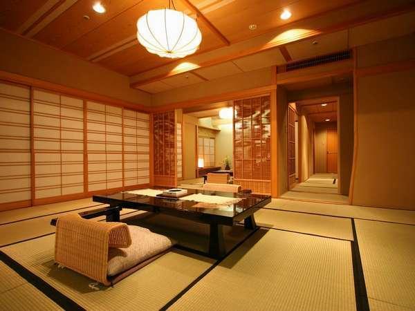 【貴賓室】和室15畳+8畳+仕立室+リビング+ベッドルーム付