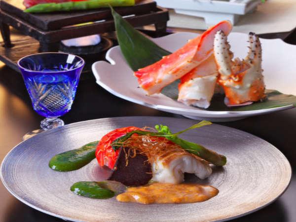 旬の食材を使用し、目でも舌でも愉しめる和食会席膳。※写真はイメージです。