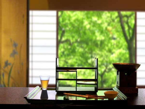 ≪四季亭:個室食事処≫周りを気にせずゆっくりとお食事をお楽しみいただけます。