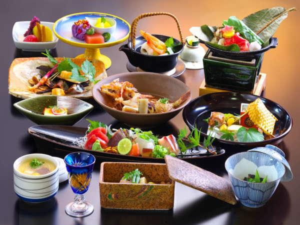 【特選会席膳】オニカサゴや秋刀魚など。秋を目で舌で香りでお愉しみください。