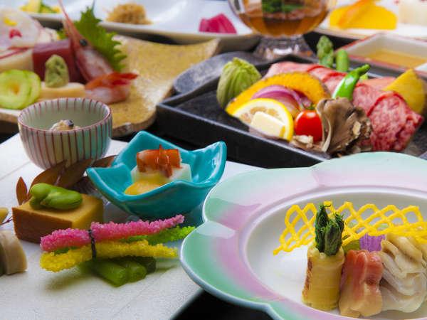 【上州牛メインの和膳:一例】写真はイメージです。