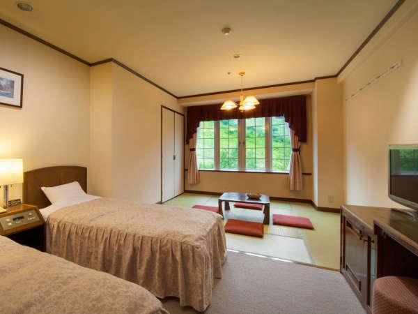 【禁煙・Wi-Fi完備】★スタンダードルーム和洋室一例(8畳+2ベッド)