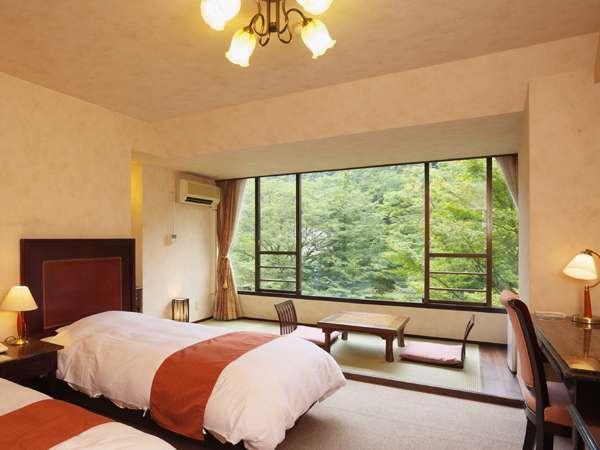 【直前割引】渓流沿い客室☆1泊2食付割引特価プラン