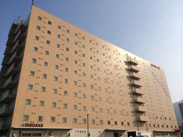 HOTEL AZ 北九州八幡店の外観