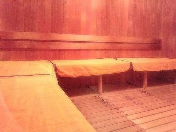 サウナ室:水風呂完備