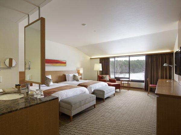 ゆったりとした贅沢空間 絵葉書のような絶景 スタンダードプラン/ラグジュアリーツイン<磐梯山側>
