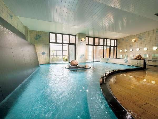 自噴天然温泉放流式のお風呂