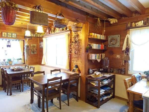 手作りの雑貨やインテリアで、温かみのあるナチュラルな空間をお楽しみ下さい。