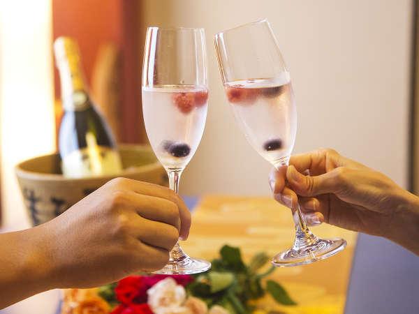 ◆記念日プラン◆あなたの大切な1日を<ケーキ&乾杯酒>オーシャンビューの絶景とともに祝福!
