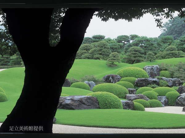 『足立美術館』入館券付プラン☆15年連続日本一の庭園を是非!当館から歩いてわずか30秒!【現金特価】