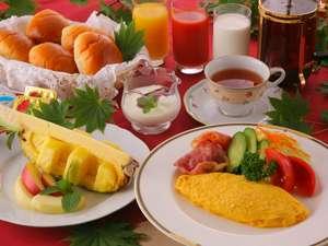 オルゴールとともに。。。朝食の一例