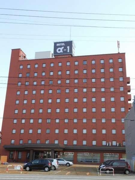 ホテル・アルファ-ワン鶴岡の外観