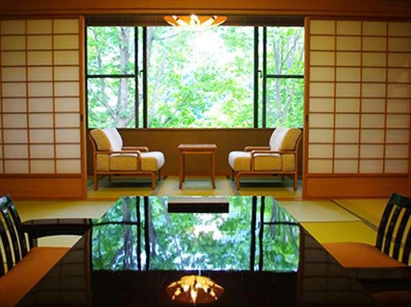 檜内風呂付客室 [離れ2階](122平米、定員6名様、禁煙)
